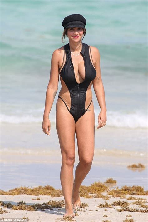 ÿþmaria doyle kennedy swimsuit jackie cruz flaunts her figure in a barely there one piece