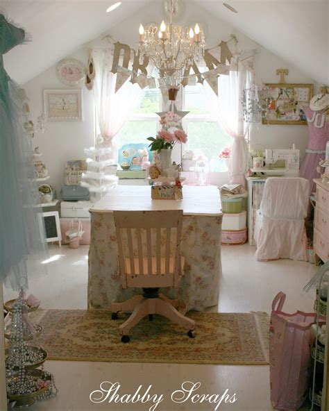 shabby chic sewing room shabby chic lofts and attics i heart shabby chic