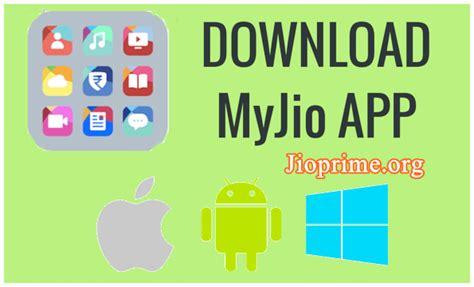 my jio app for android ios windows jio4gvoice