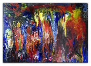 Kunst Online Shop : h hlengeister abstrakte kunst bilder gemalt kaufen burgstaller ~ Orissabook.com Haus und Dekorationen
