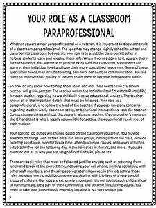 Btse  Paraprofessional Training Manual