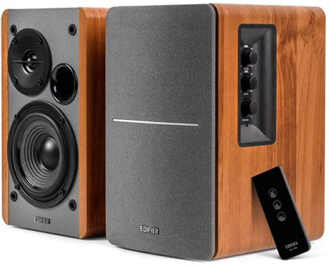powered bookshelf speakers edifier rt1280t powered bookshelf speaker review