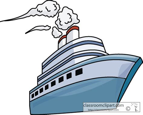 Clipart Boats And Ships by Ships Travel Passenger Ship Classroom Clipart