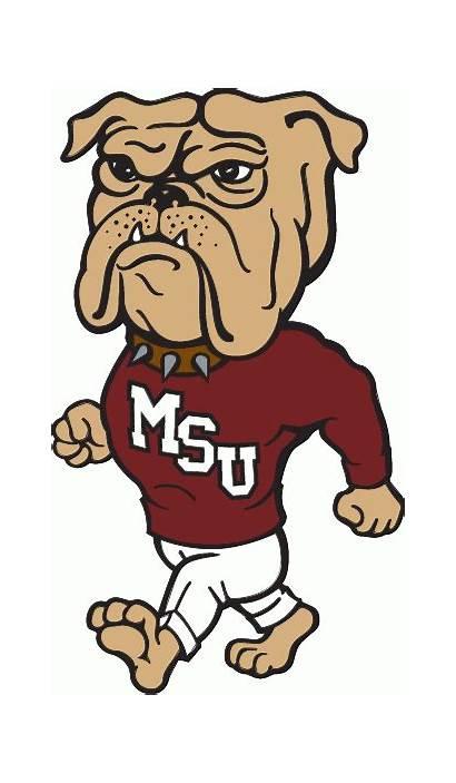 Mississippi Bulldog State Bulldogs Mascot Clipart Basketball