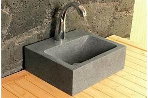 Lave Main Rectangulaire : lave main en pierre naturelle les derni res ~ Premium-room.com Idées de Décoration