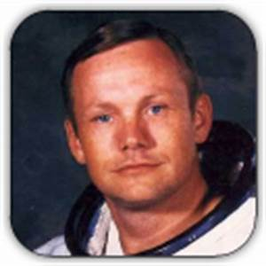 Neil Armstrong's Face - Pics about space