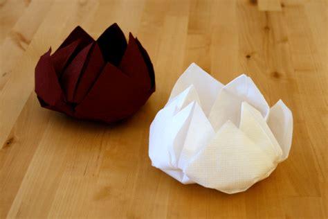 lotus serviette en papier speyeder net verschiedene ideen f 252 r die raumgestaltung inspiration