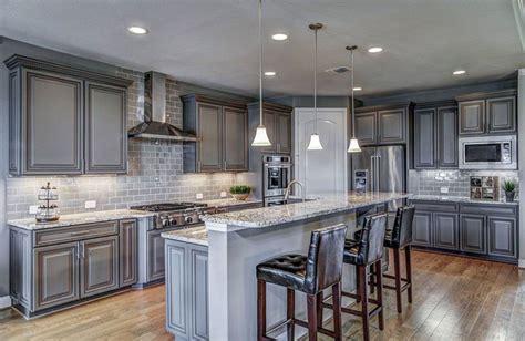 design ideas  gray kitchen cabinets
