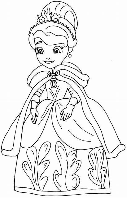 Coloring Princess Pages Realistic Games Printable Getcolorings