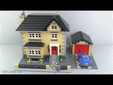 lego creator  model town house mini review youtube