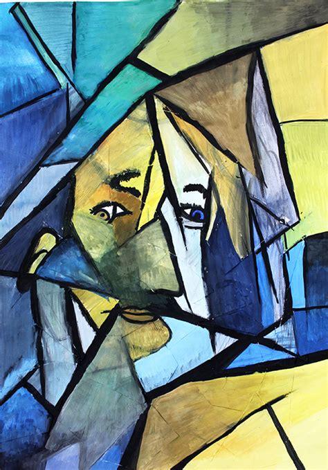 kubistische portraits
