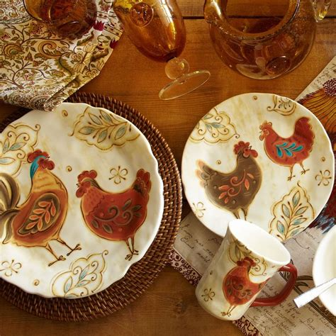 rooster dishes gallo dinnerware dinnerware dish sets pinterest chang e 3 roosters and love