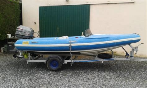 14fft flatacraft force 4gt hull ribboat for sale in