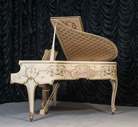 Weber Old World Country French Style Grand Piano Antique