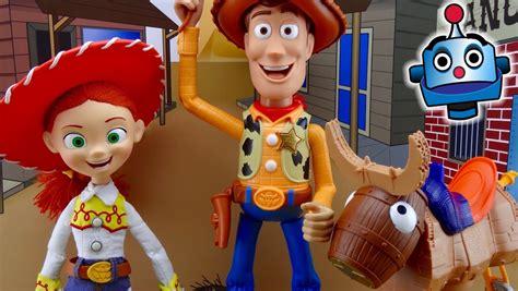 Toy Story Woody Y Jessie Figuras 20 Aniversario