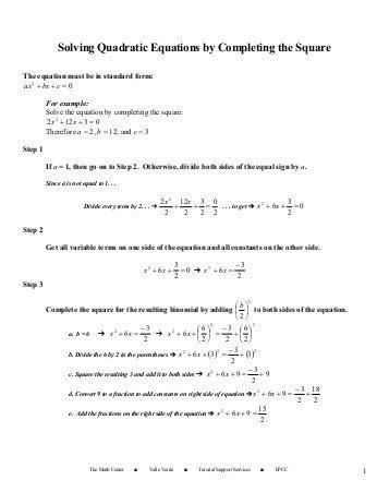 math worksheets go quadratic formula quadratic equations