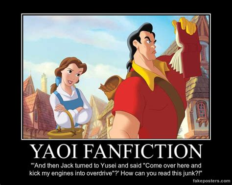 Fanfiction Memes - yaoi fanfiction demotivational poster by yugiohponyavengers on deviantart