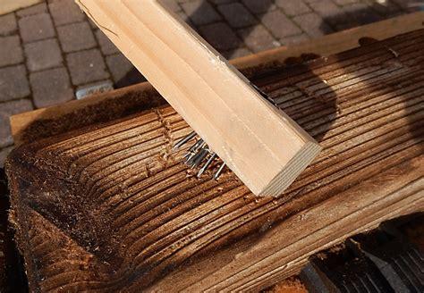 Holz Alt Machen by Holz Alt Aussehen Lassen Holz Paletten Mit Dem