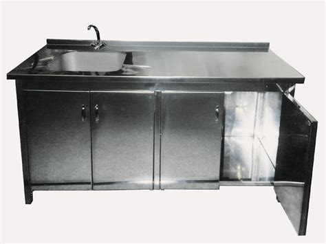 stainless steel kitchen sink cabinet china cabinet with sink ptcs 715 china cabinet 8262