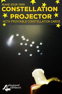 Star Of The Week Templates Printable Constellation Projection Cards
