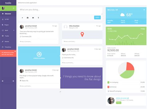 web app template 34 outstanding admin panels for your web applications