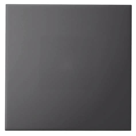 charcoal grey gray solid trend color background tile zazzle