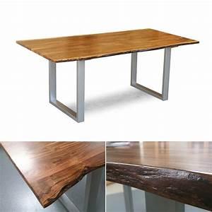 Esstisch Akazie Baumkante : tisch agra massivholz esstisch 160x90 cm akazie baumkante ~ Watch28wear.com Haus und Dekorationen