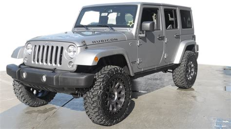 jeep wrangler 4 door silver 2016 jeep wrangler suv 4 door for sale 33 used cars from