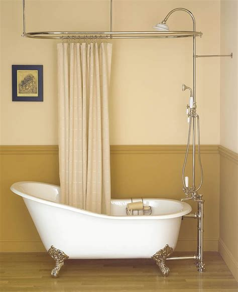 Modern Bathroom With Clawfoot Tub by Inspiring Bathroom Decor With Clawfoot Tub Shower Oval