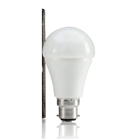 9w led b22 bayonet light bulb warm white 806 lumen 60w eqv