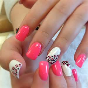 Photo gallery of the simple acrylic nails designs ideas