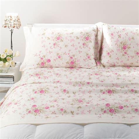 lenzuolo flanella fiori matrimoniale caleffi casseri biancheria