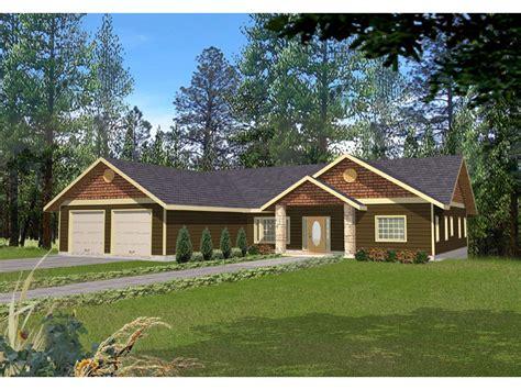 chanhassen ridge ranch home plan   house plans
