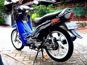 Modifikasi Motor Suzuki Shogun 110 Keren Terbaru