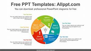 Rotation Sector Form Powerpoint Diagram Template