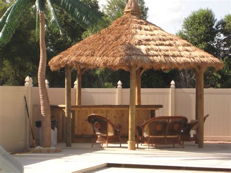 Tiki Hut Bar Kits tiki hut kits back yard diy build your own tiki hut and