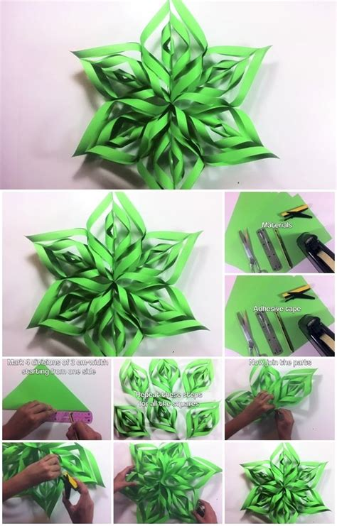 paper star ornament step  step tutorial usefuldiycom