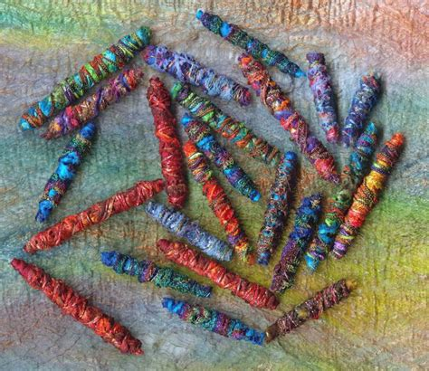 1000 images about fabric beads on pinterest textile art