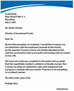 Sample letters of complaint letter samples choose project claim sample letters complaint example spiritdancerdesigns Choice Image