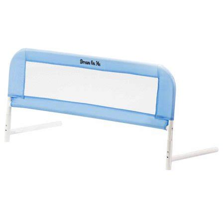 on me mattress on me bed rail in blue walmart
