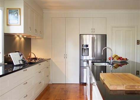 Shaker Style Cabinets Kitchen Contemporary With Bar Stool