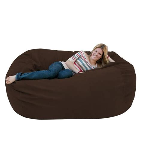 bean bag chair large 6 foot cozy sack premium foam filled