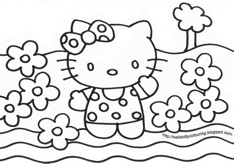Hello Kitty Coloring Pages #2 Hello Kitty Forever