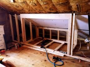 Attic Built in Bunk Beds