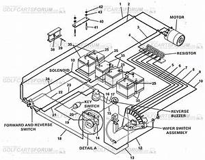 Club Car Ds 89  90  91  92  93  94  36v  Wiring Diagram
