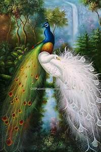 Majestic Peacocks (Painting ID: AN-0925-KA)