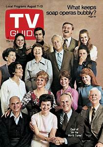 As The World Turns Cast On Tvguide Cover 1971