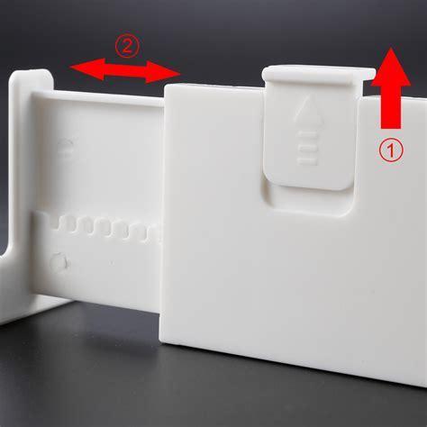 Adjustable Drawer Dividers Plastic Storage Organisers