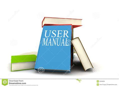 User Manual Books Stock Illustration. Illustration Of