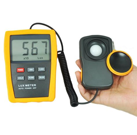Range Digital Light Meter For Hydroponics Systems